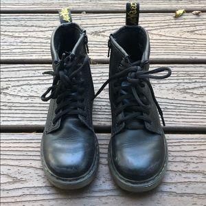 Dr. Martens Toddler Kids Air Walk Combat Boots 11